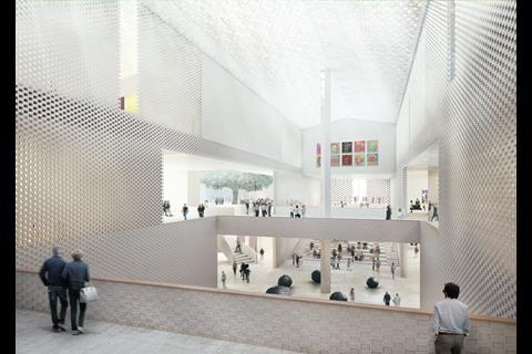 the Museum of the 20th Century, by Herzog & de Meuron